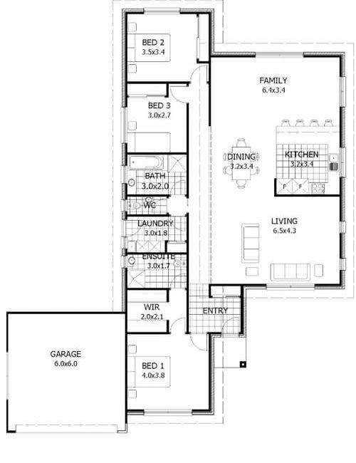 Tassie Floor Plan New Home